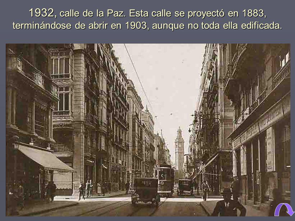 1932, calle de la Paz.