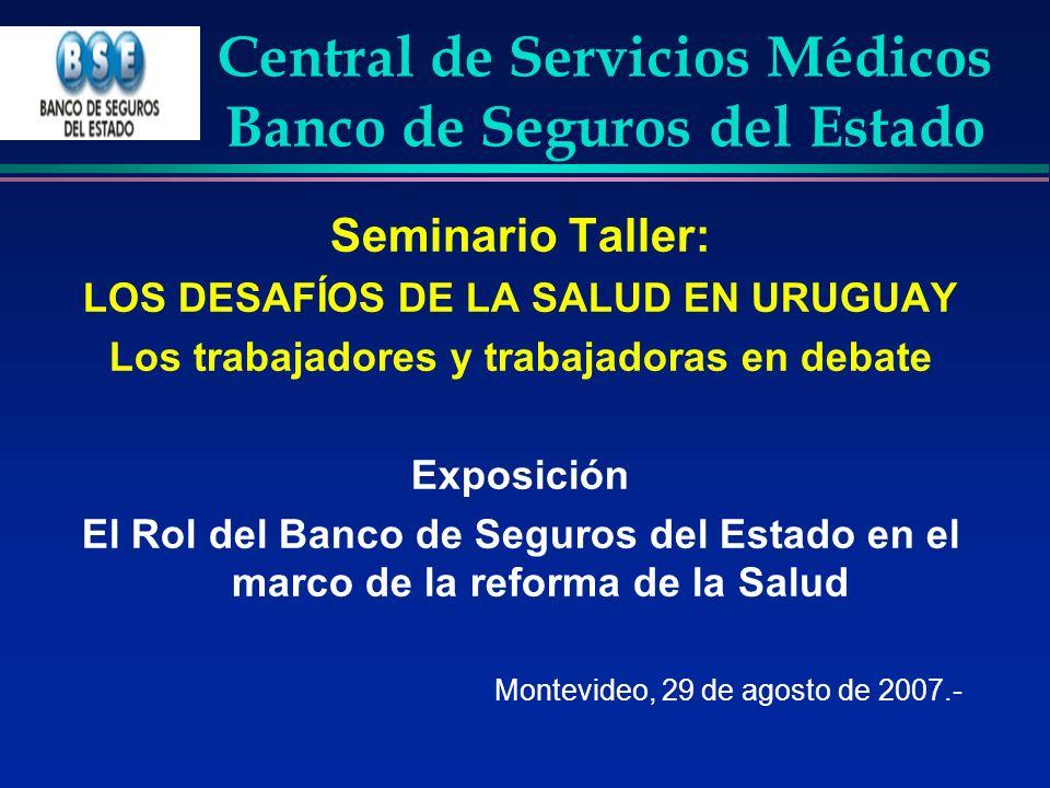 Central de Servicios Médicos Banco de Seguros del Estado