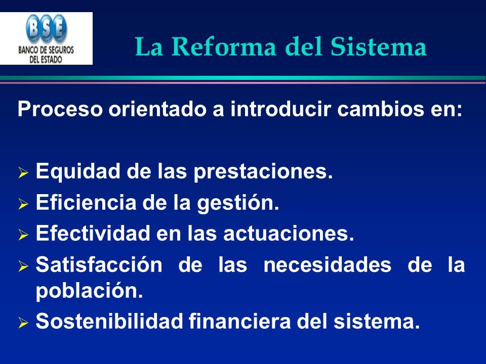 La Reforma del Sistema Proceso orientado a introducir cambios en: