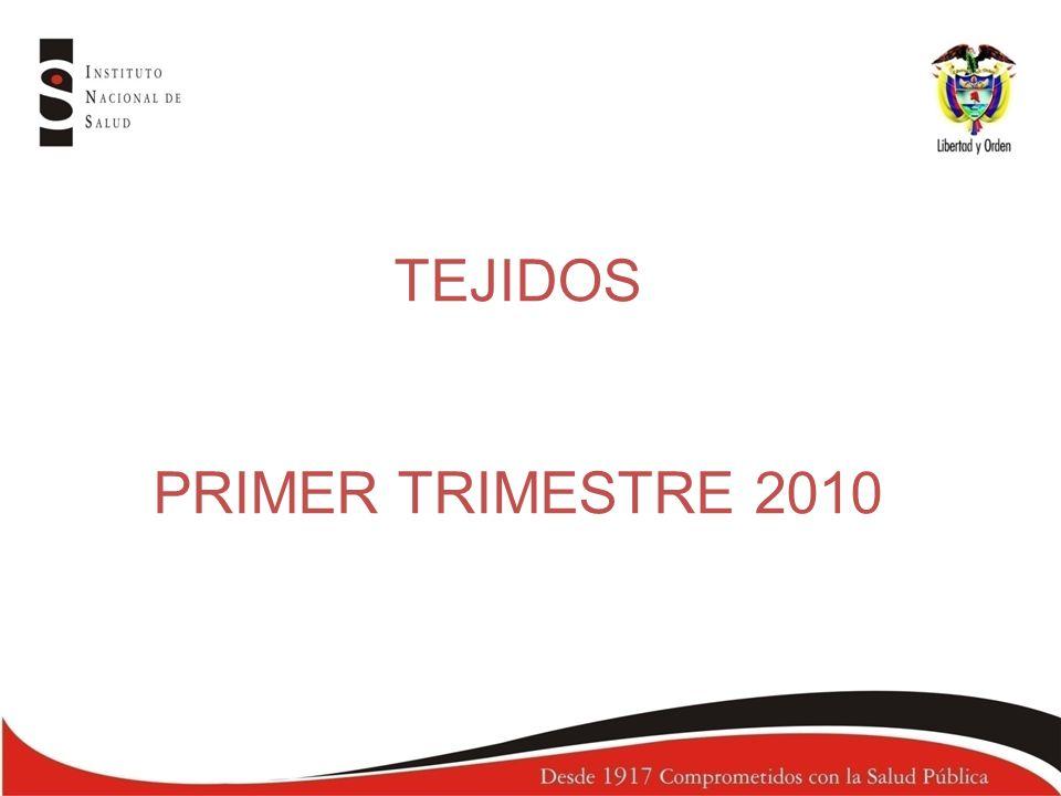 TEJIDOS PRIMER TRIMESTRE 2010
