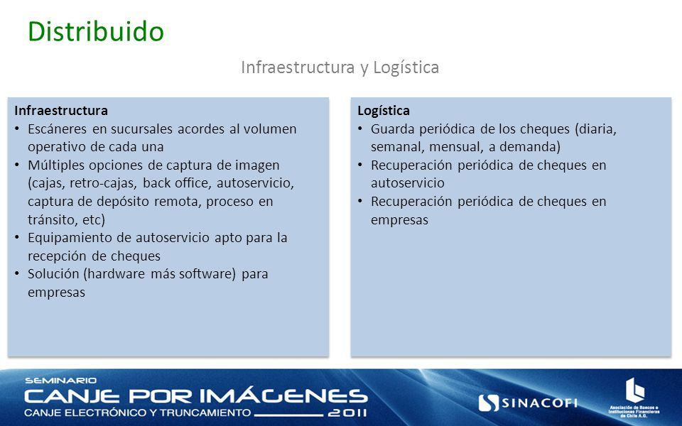Infraestructura y Logística
