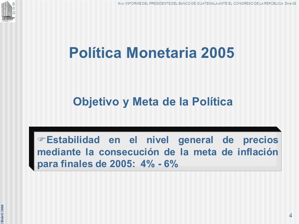 Objetivo y Meta de la Política