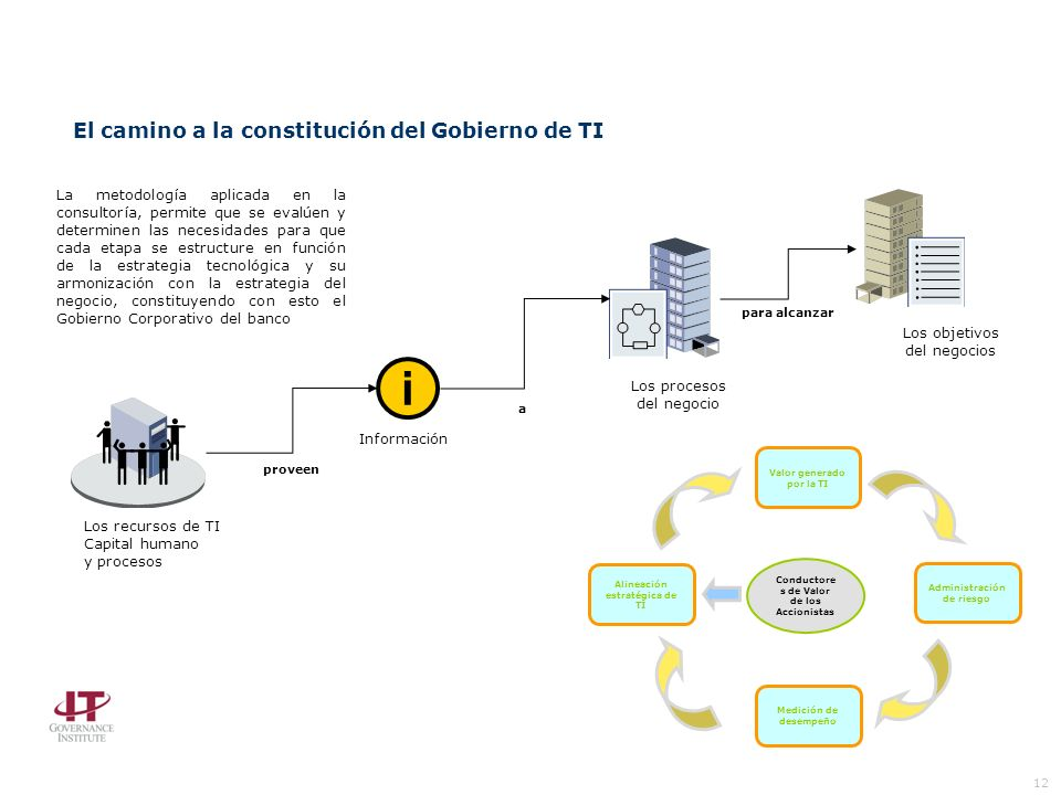 i El camino a la constitución del Gobierno de TI 12