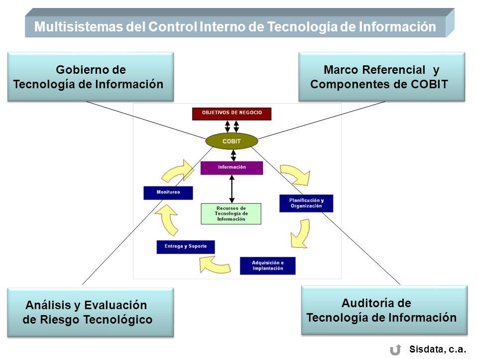 Multisistemas del Control Interno de Tecnología de Información