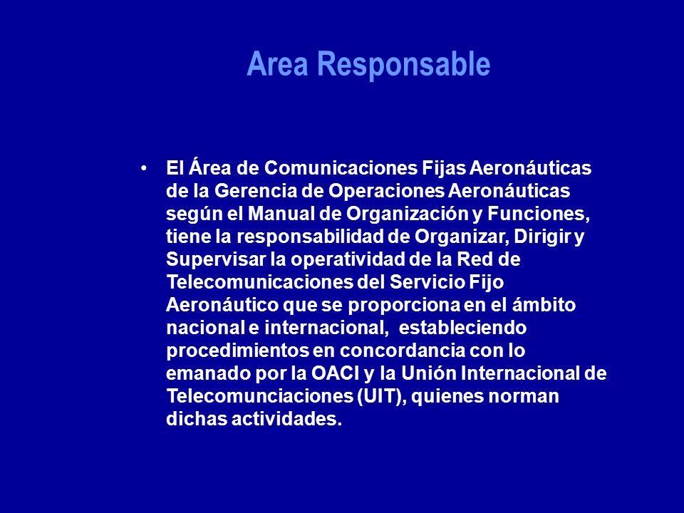 Area Responsable