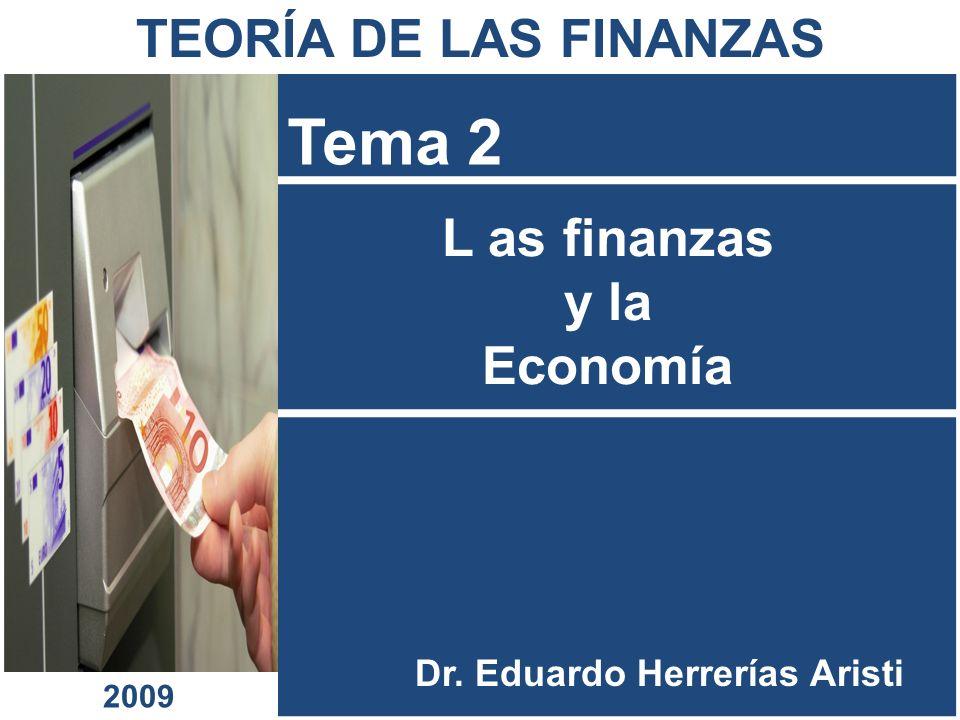 L as finanzas y la Economía