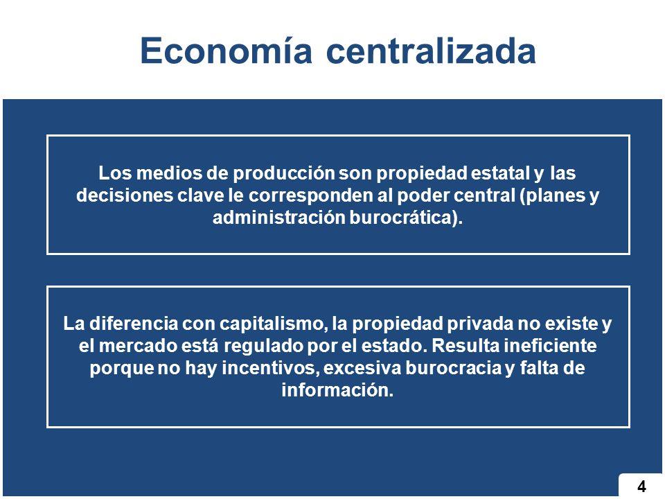 Economía centralizada