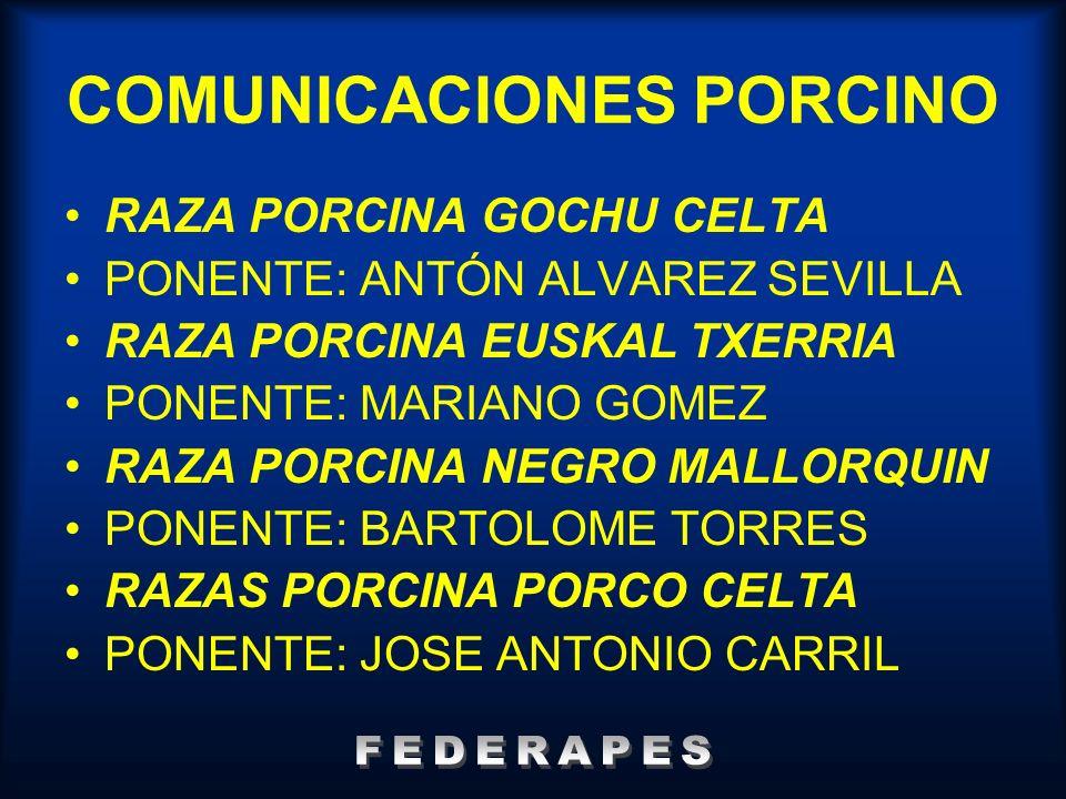 COMUNICACIONES PORCINO