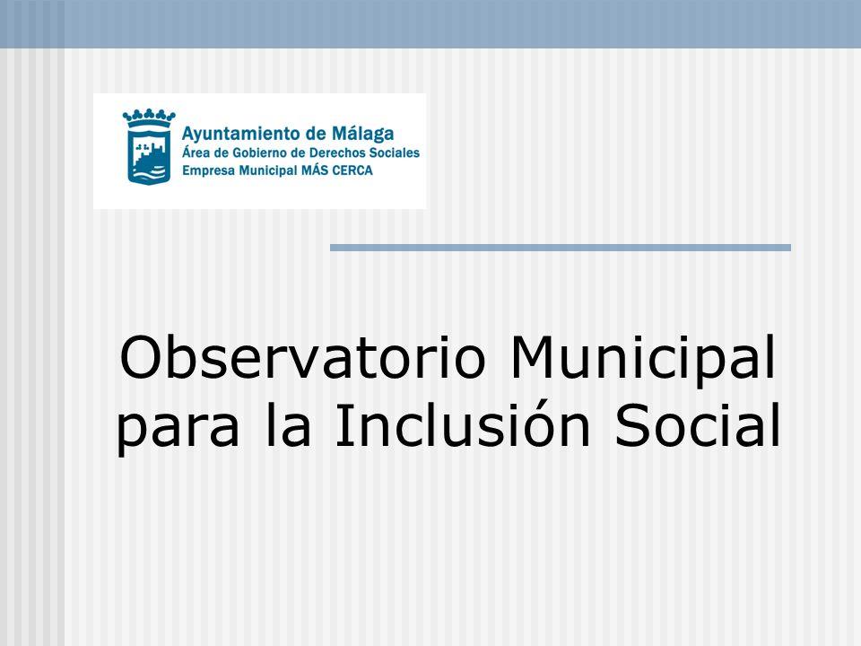 Observatorio Municipal para la Inclusión Social