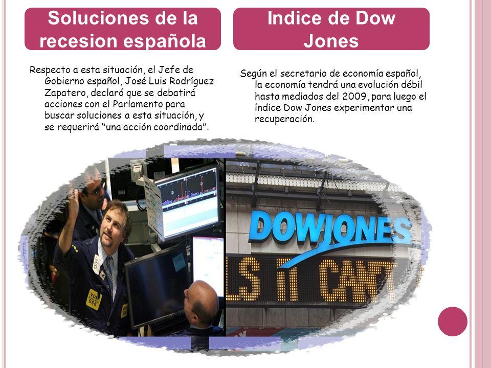 Soluciones de la recesion española