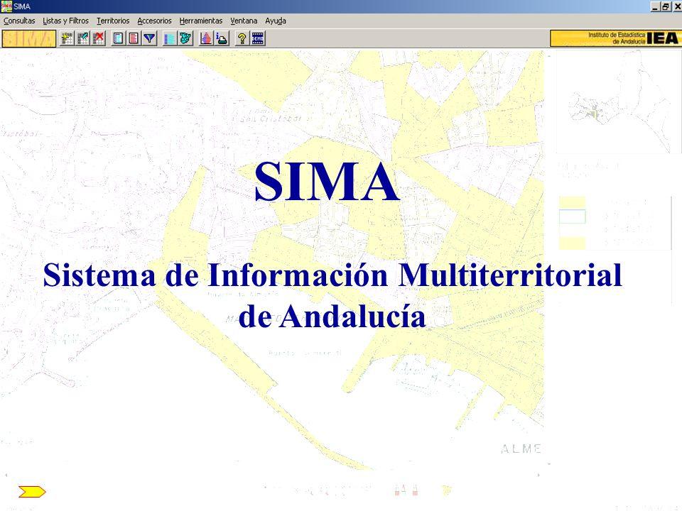 Sistema de Información Multiterritorial de Andalucía