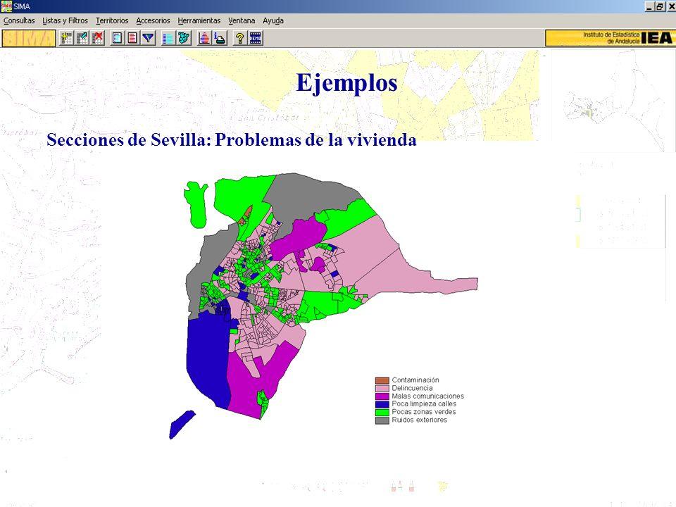 Ejemplos Secciones de Sevilla: Problemas de la vivienda