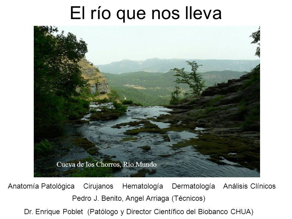 El río que nos lleva Cueva de los Chorros, Río Mundo