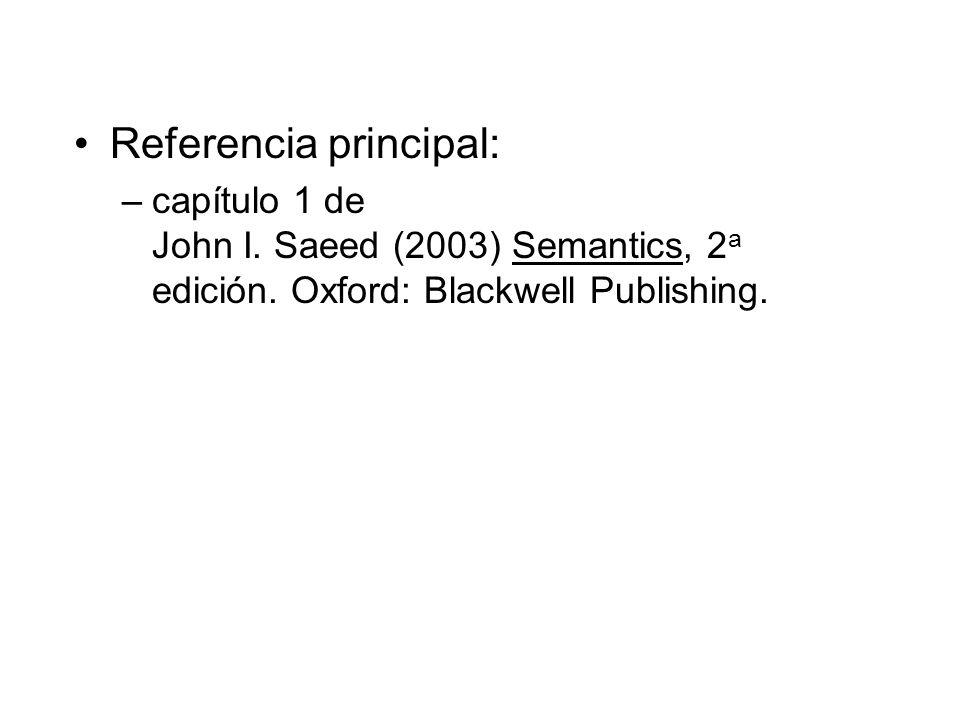 Referencia principal: