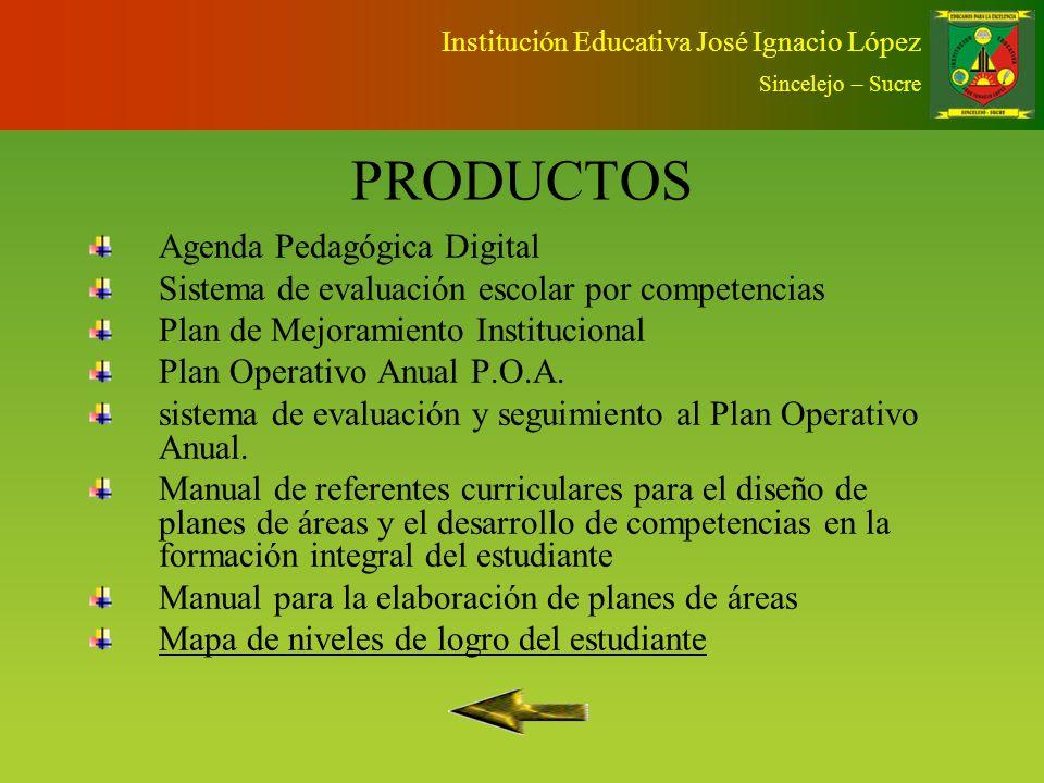 PRODUCTOS Agenda Pedagógica Digital