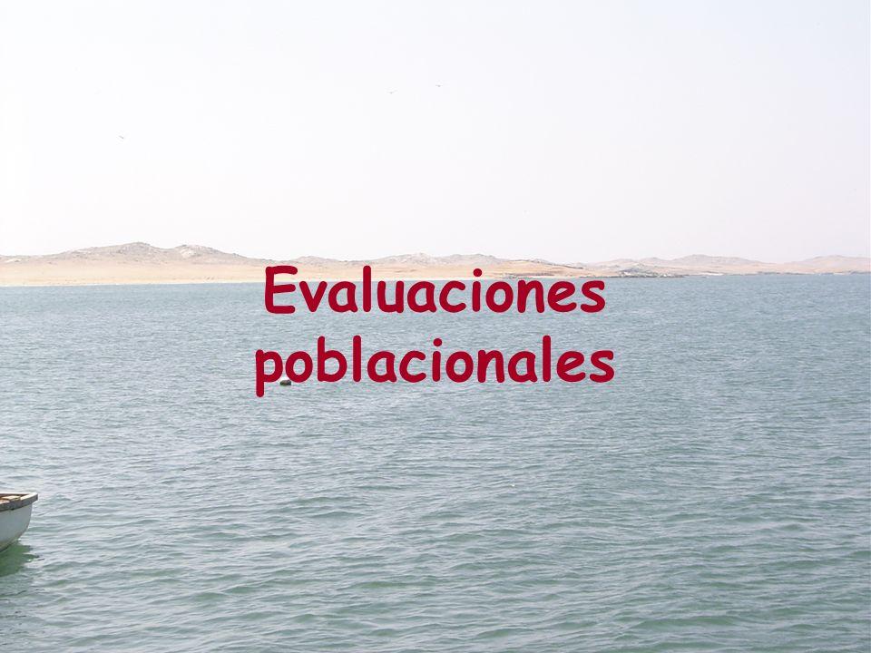 Evaluaciones poblacionales