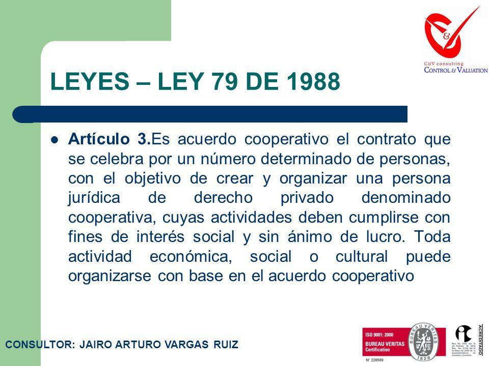 LEYES – LEY 79 DE 1988