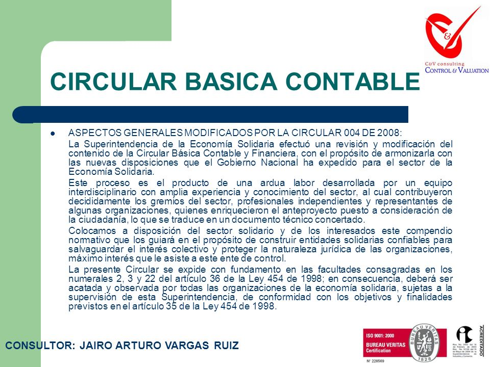CIRCULAR BASICA CONTABLE