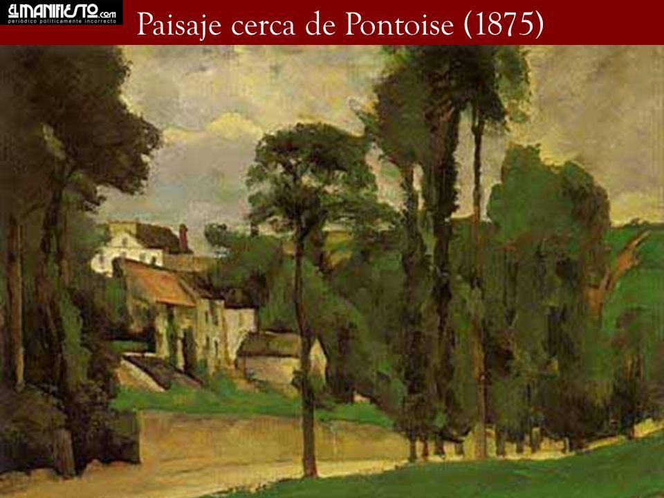 Paisaje cerca de Pontoise (1875)