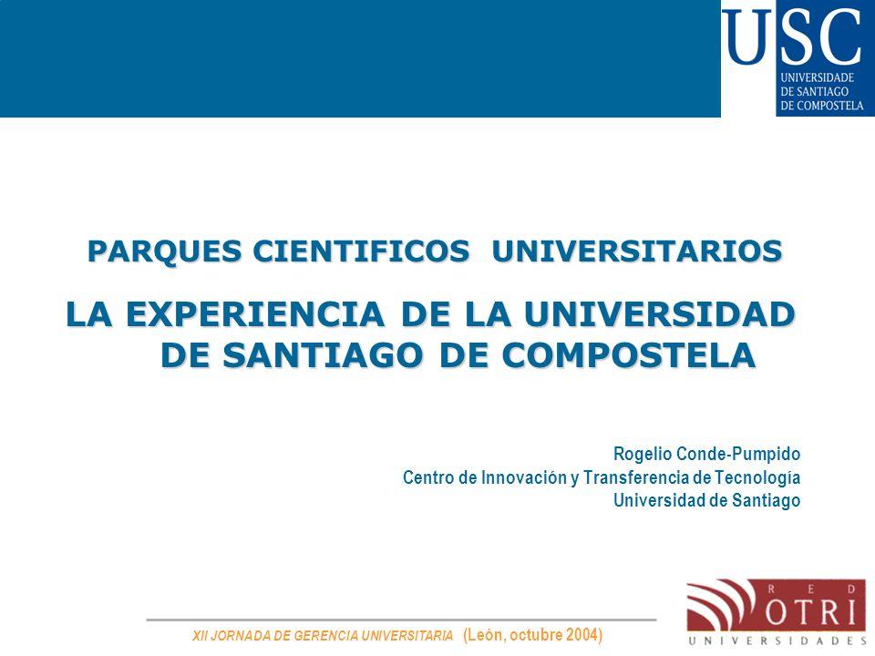 LA EXPERIENCIA DE LA UNIVERSIDAD DE SANTIAGO DE COMPOSTELA