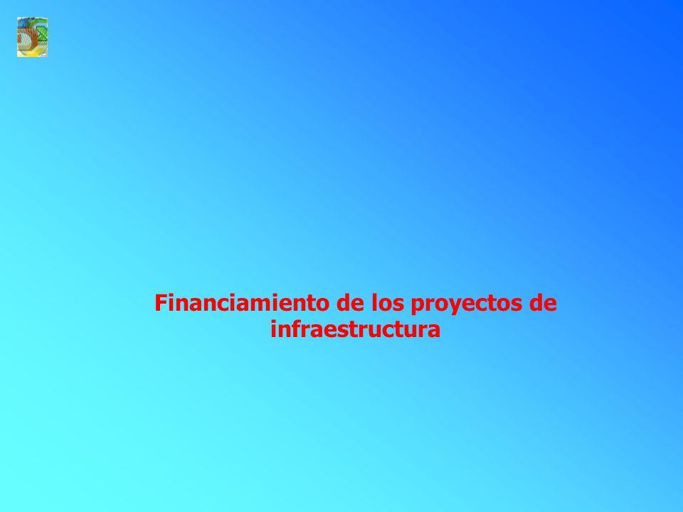 Financiamiento de los proyectos de infraestructura
