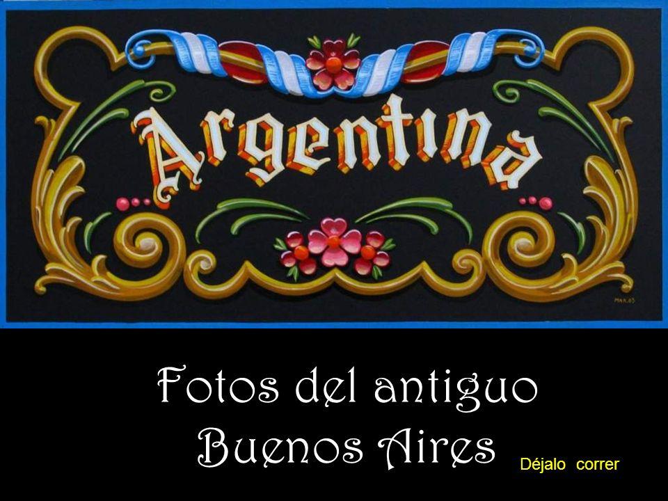 Fotos del antiguo Buenos Aires