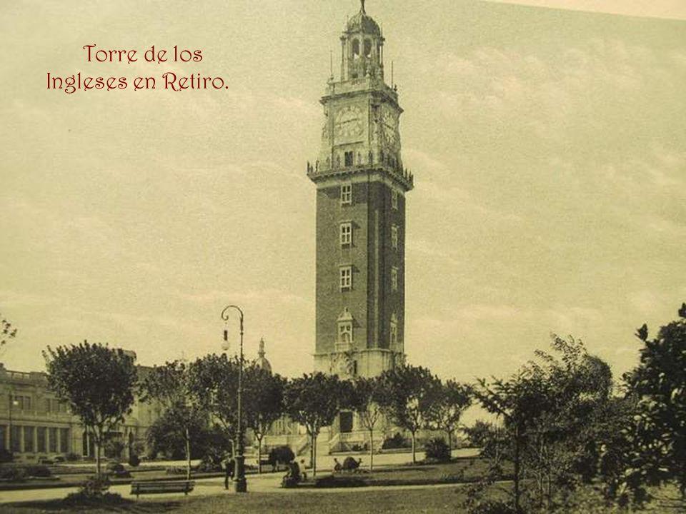Torre de los Ingleses en Retiro.