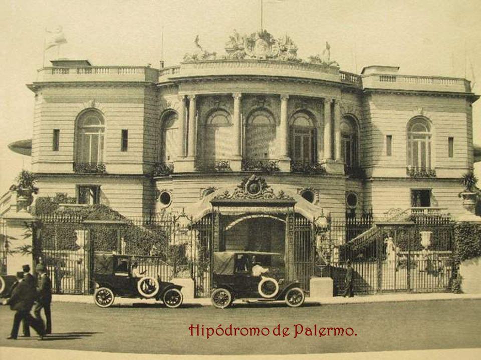Hipódromo de Palermo.