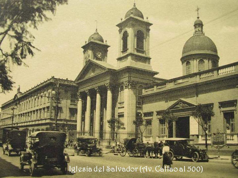 Iglesia del Salvador (Av. Callao al 500)