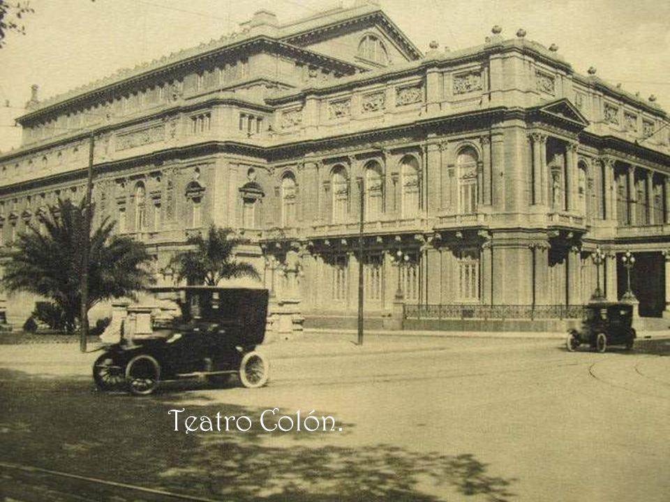 Teatro Colón.
