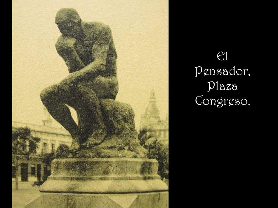 El Pensador, Plaza Congreso.