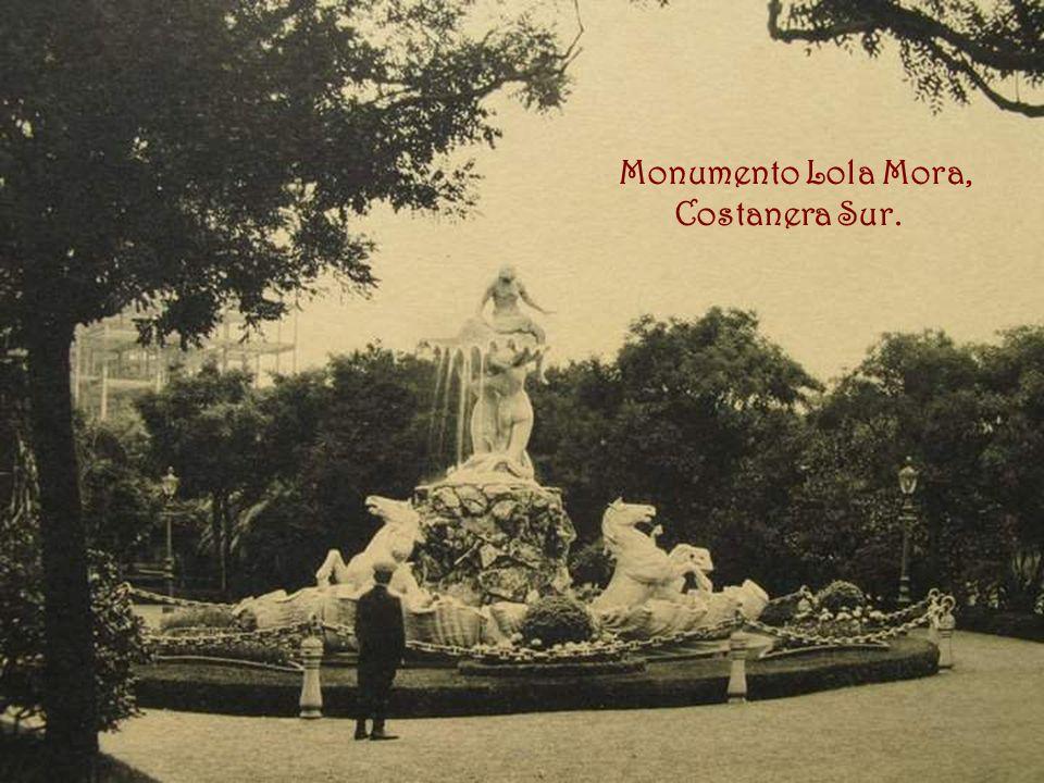 Monumento Lola Mora, Costanera Sur.