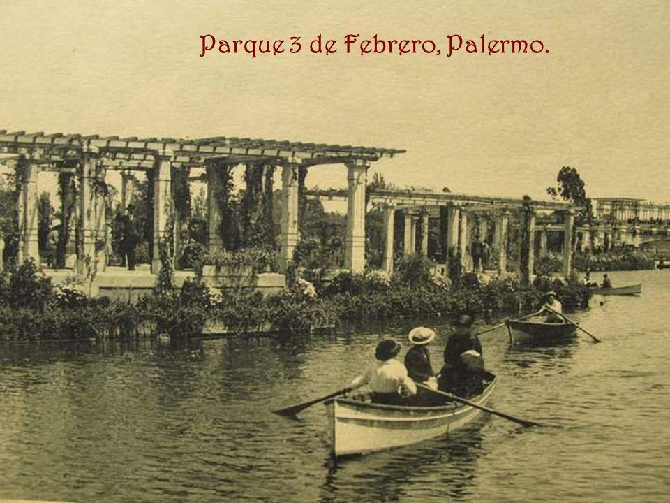 Parque 3 de Febrero, Palermo.