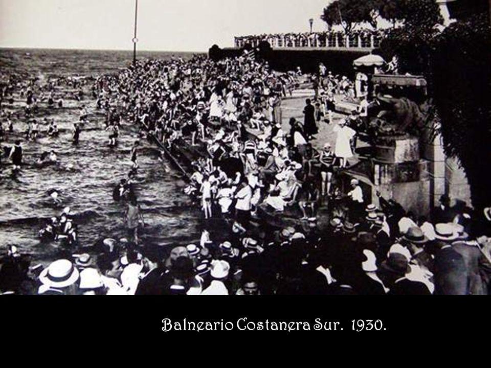 Balneario Costanera Sur. 1930.