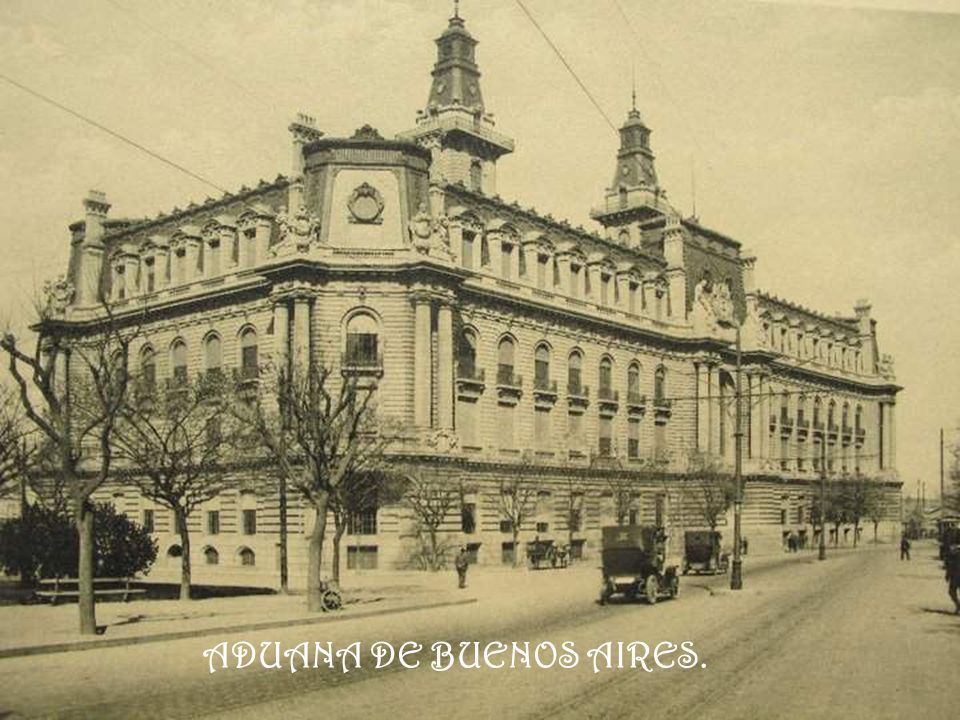 ADUANA DE BUENOS AIRES.
