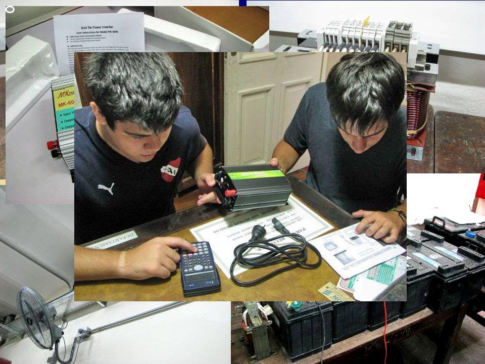 Otros trabajos en 2011Montaje de las bandejas portacables de distribución. Montaje del tablero principal de equipo de maniobra.