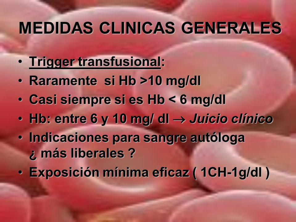 MEDIDAS CLINICAS GENERALES