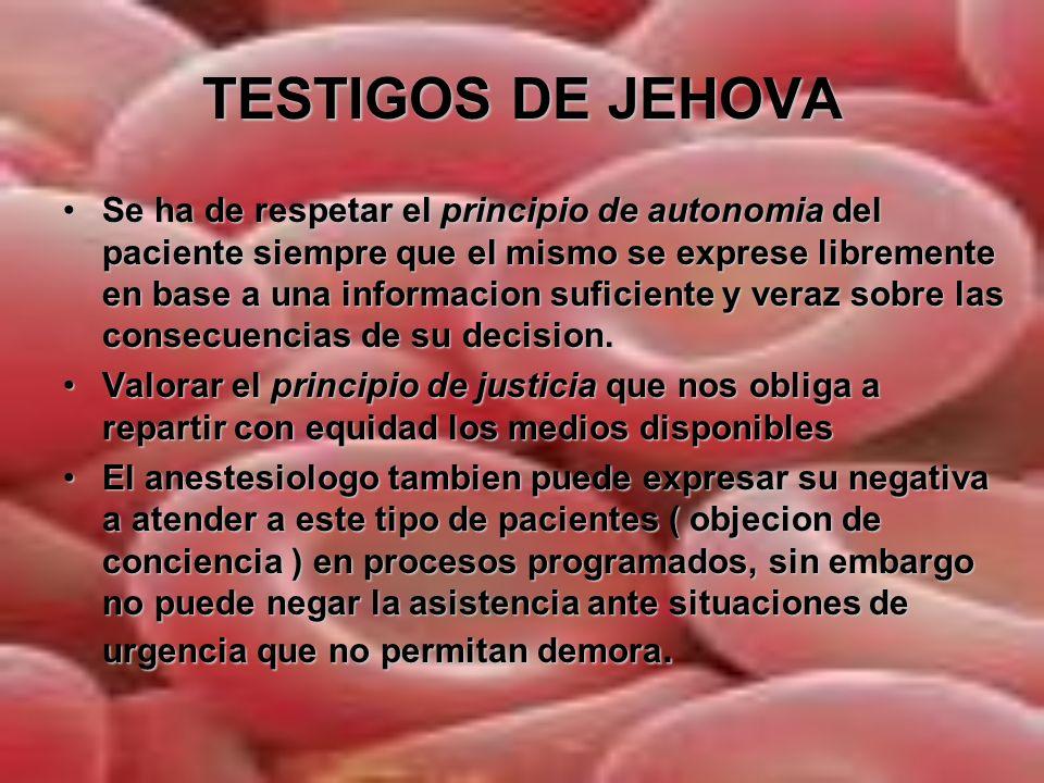 TESTIGOS DE JEHOVA