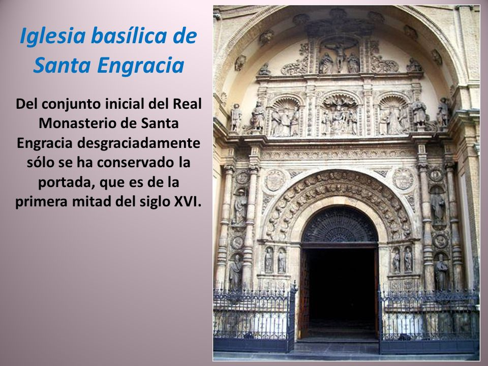 Iglesia basílica de Santa Engracia