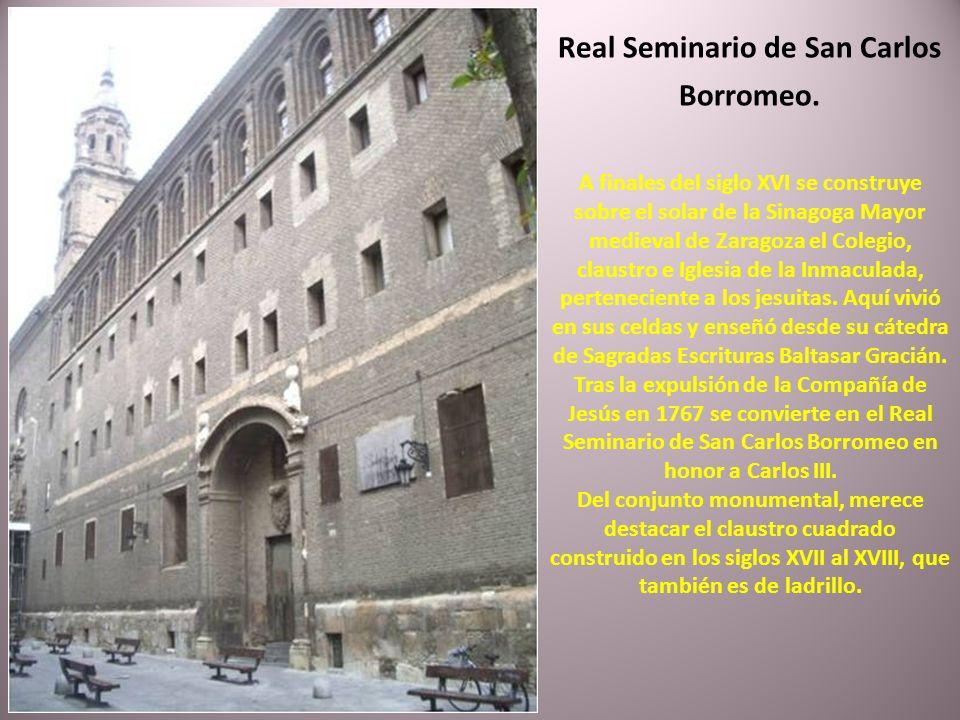 Real Seminario de San Carlos Borromeo.