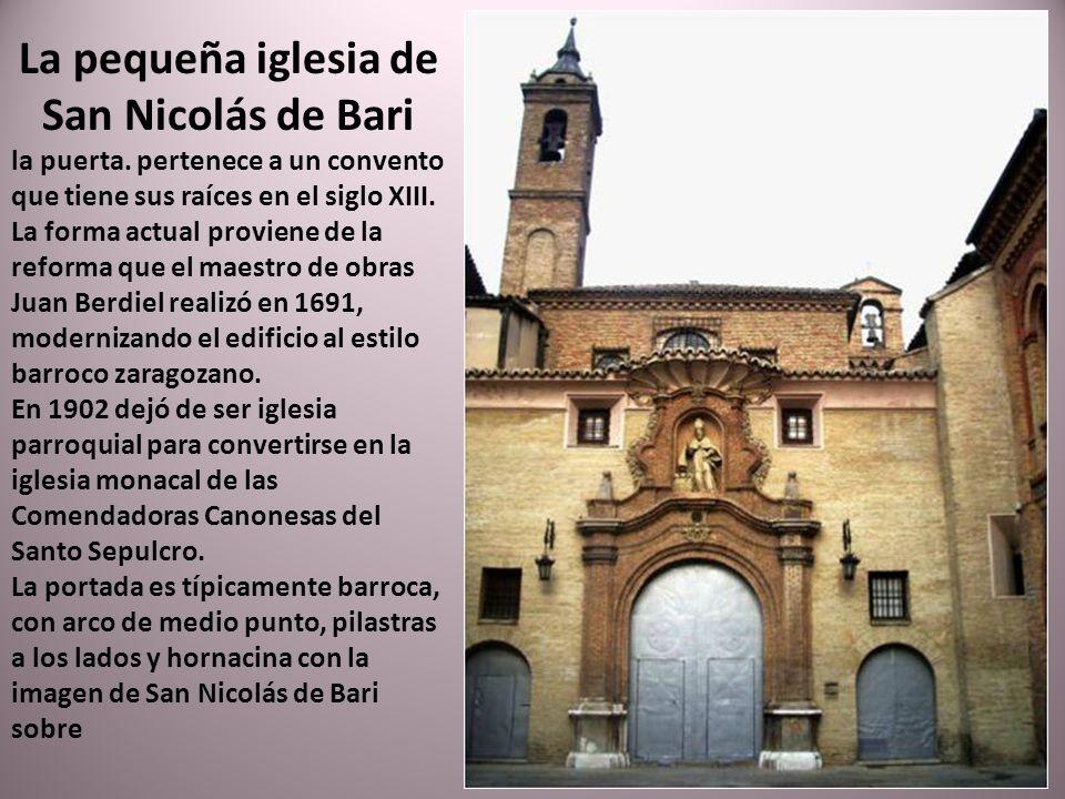 La pequeña iglesia de San Nicolás de Bari