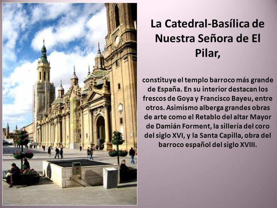 La Catedral-Basílica de Nuestra Señora de El Pilar,