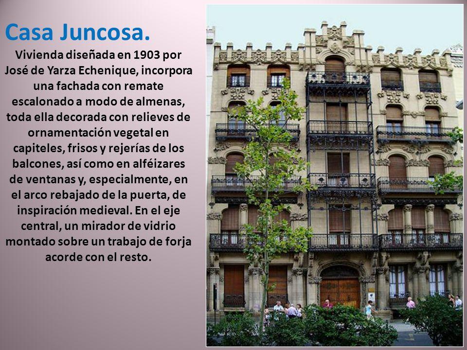 Casa Juncosa.
