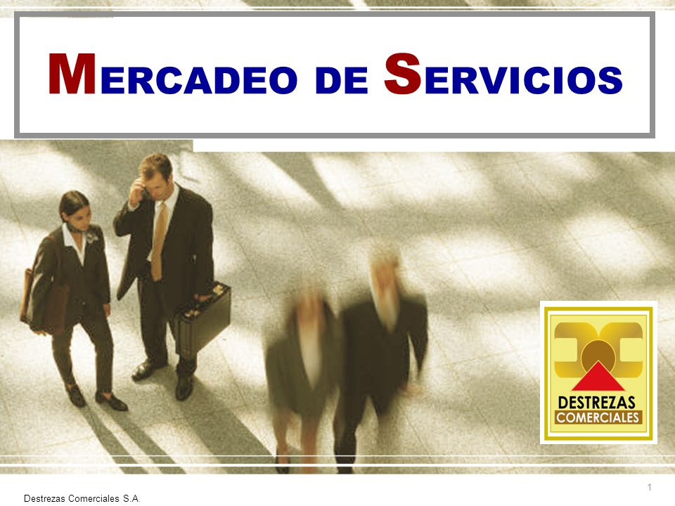 MERCADEO DE SERVICIOS Destrezas Comerciales S.A.