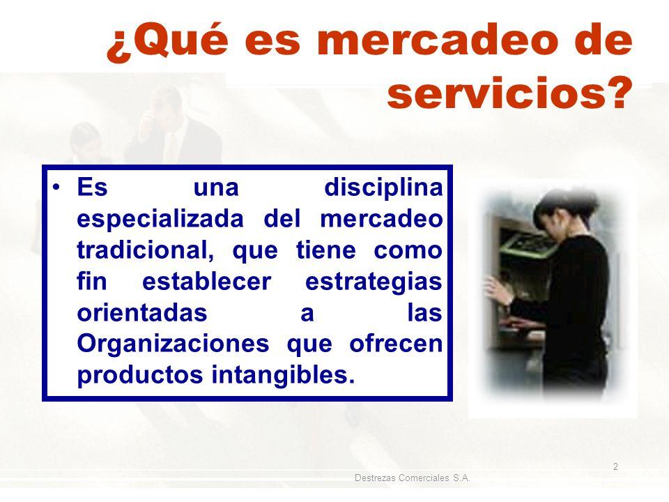 ¿Qué es mercadeo de servicios