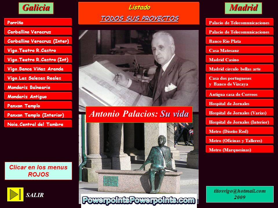 Antonio Palacios: Su vida