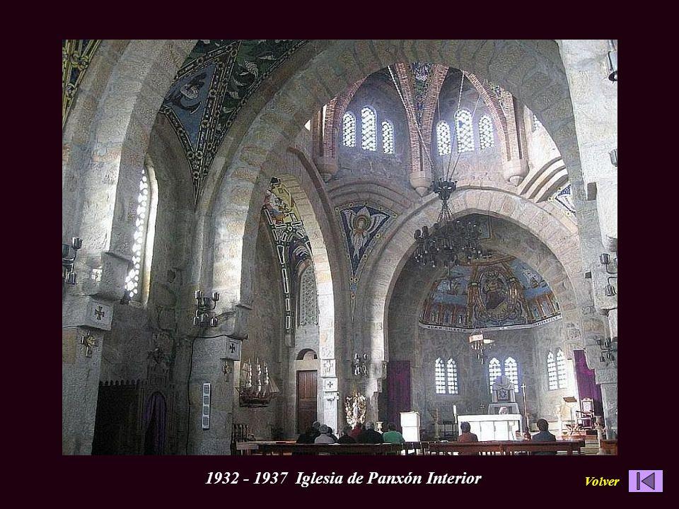 1932 - 1937 Iglesia de Panxón Interior