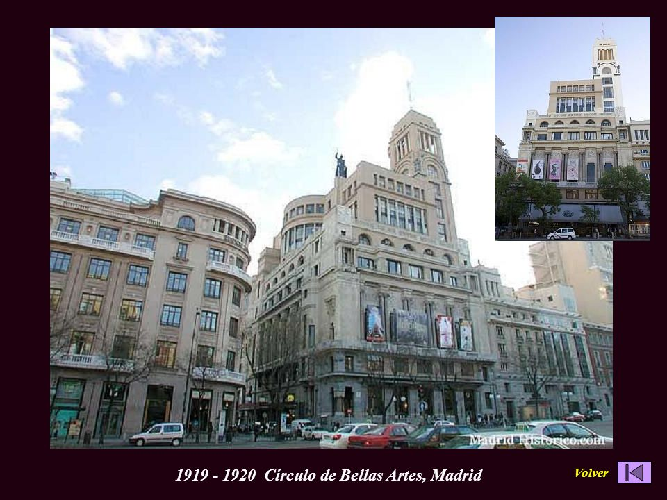 1919 - 1920 Círculo de Bellas Artes, Madrid