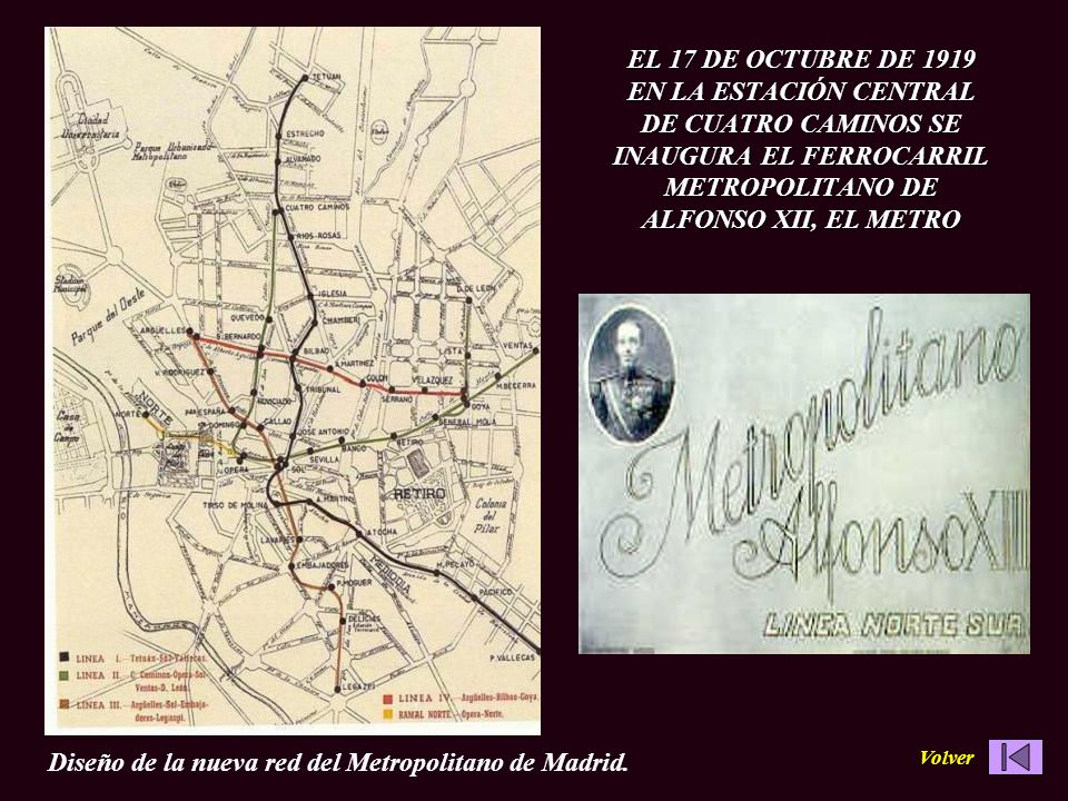 Diseño de la nueva red del Metropolitano de Madrid.