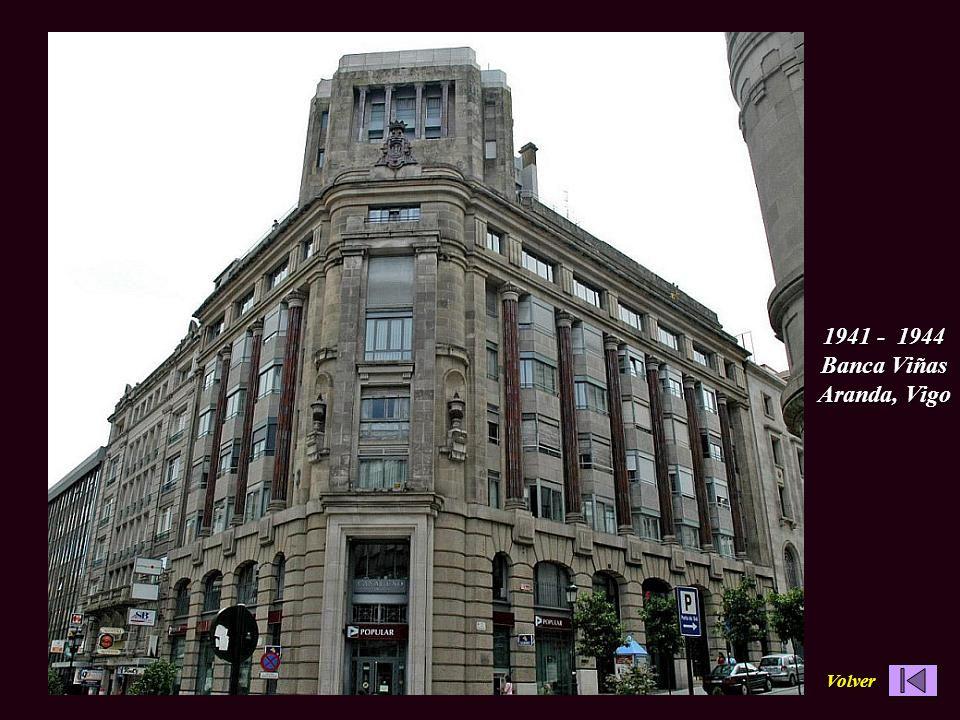 1941 - 1944 Banca Viñas Aranda, Vigo